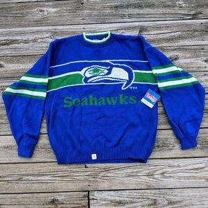 VTG Seattle Seahawks NFL Sweater Deadstock